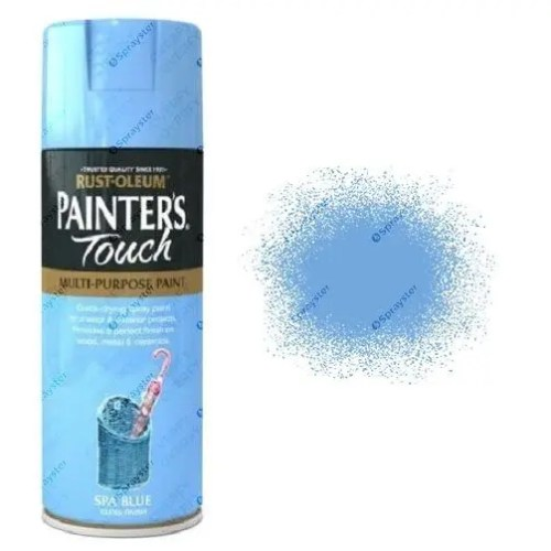 Rust-Oleum Painter's Touch Spa Blue Spray Paint Gloss 400ml