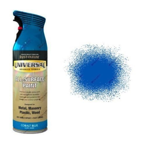 Rust-Oleum Cobalt Blue Gloss Universal Spray Paint 400ml