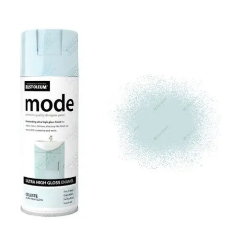 Rust-Oleum Mode Light Pale Blue Celeste Gloss Ultra High 400ml