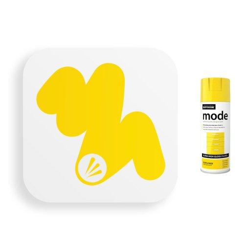 Rust-Oleum-Sunflower-Ultra-High-Gloss-Spray-Paint-400ml-Mode