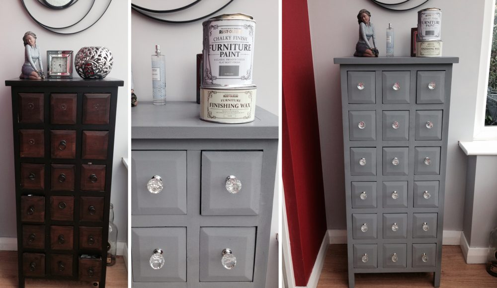 Rust Oleum Anthracite Chalky Paint, Grey Chalky Furniture Paint