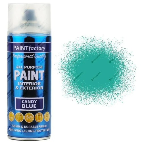 1-x-400ml-All-Purpose-Candy-Blue-Aerosol-Spray-Paint-Household-Car-Plastic