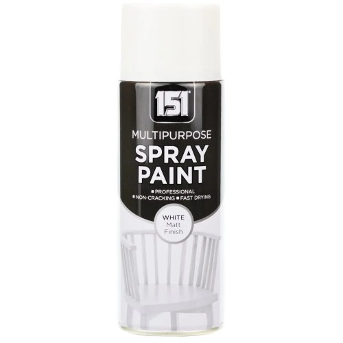 400ml 151 White Matt Spray Paint