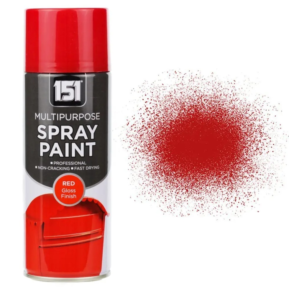 400ml 151 Red Gloss Spray Paint