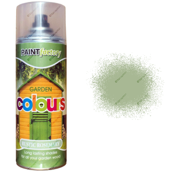 x1-Rustic-Rosemary-Green-Garden-Aerosol-Spray-Paint-Lasting-Shades-Wood-400ml-371994758880