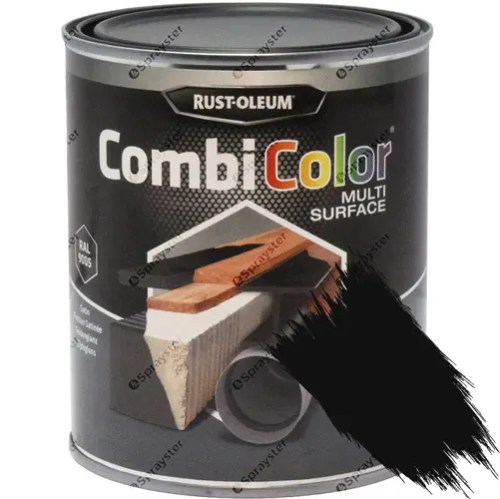 Rust-Oleum-CombiColor-Multi-Surface-Paint-Black-Satin-25L-RAL-9005-372035176214-sprayster-b