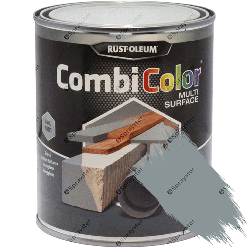 Rust-Oleum-CombiColor-Multi-Surface-Paint-Steel-Grey-Satin-750ml-RAL-7001-391856382421-sprayster