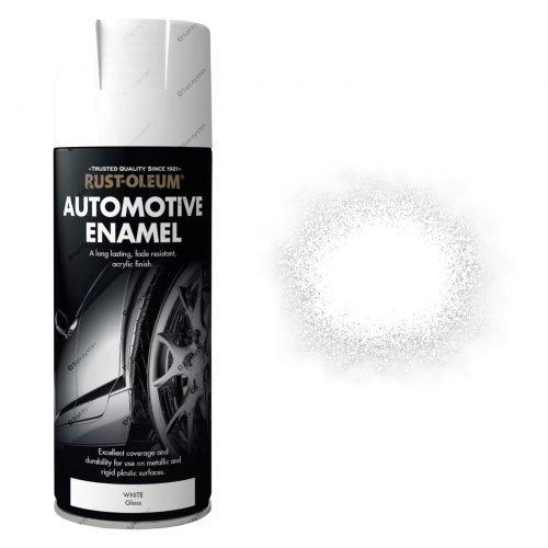 White Gloss Automotive Sprayster