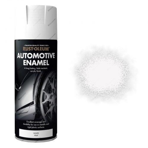 White Matt Automotive Sprayster