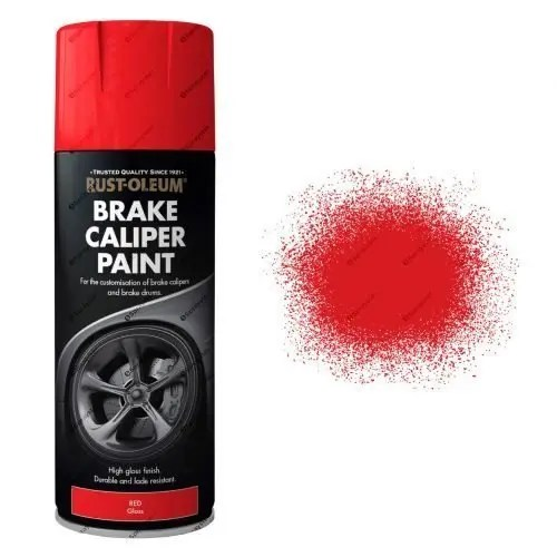 AutoMotive Brake Caliper Red Gloss