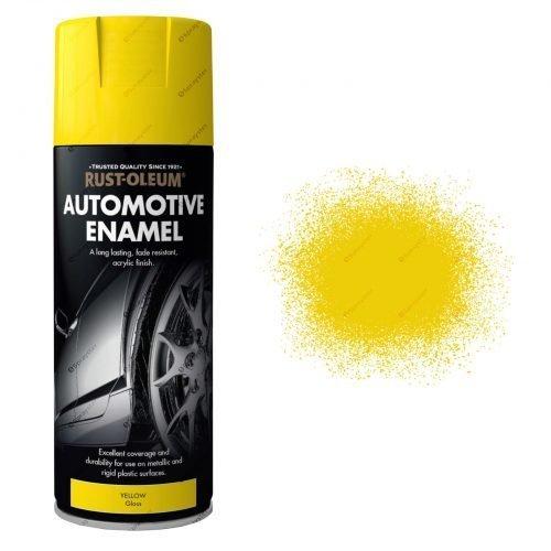 AutoMotive Yellow Gloss