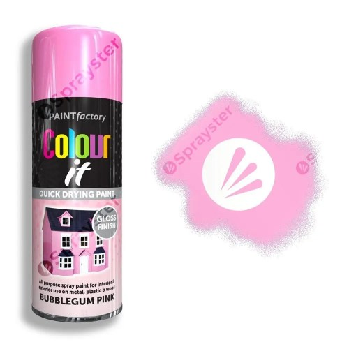 Paint-Factory-Multi-Purpose-Colour-It-Spray-Paint-Bubblegum-Pink-Gloss-Sprayster-Watermark