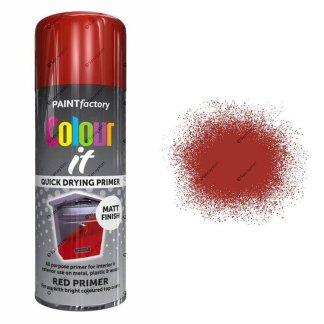 x1-Paint-Factory-Multi-Purpose-Colour-It-Spray-Paint-400ml-Red-Primer-Matt