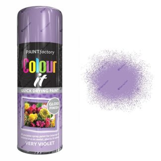x1-Paint-Factory-Multi-Purpose-Colour-It-Spray-Paint-400ml-Very-Violet-Gloss
