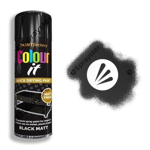 Paint-Factory-Multi-Purpose-Colour-It-Spray-Paint-250ml-Black-Matt-Sprayster-Watermark