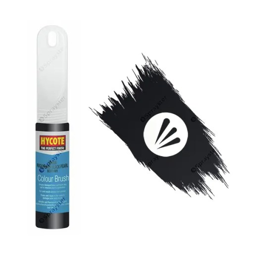 Hycote-Honda-Nighthawk-Black-Pearlescent-XCHD401-Brush-Paint
