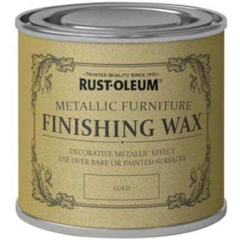 Gold Furniture Wax 125ml Rust-Oleum Shabby Chic Finish