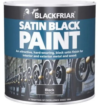 Blackfriar Satin Black Finish