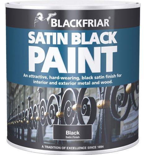 Blackfriar Satin Black Finish