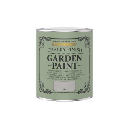 Rust-Oleum Chalky Garden Paint Flint Matt 750ml