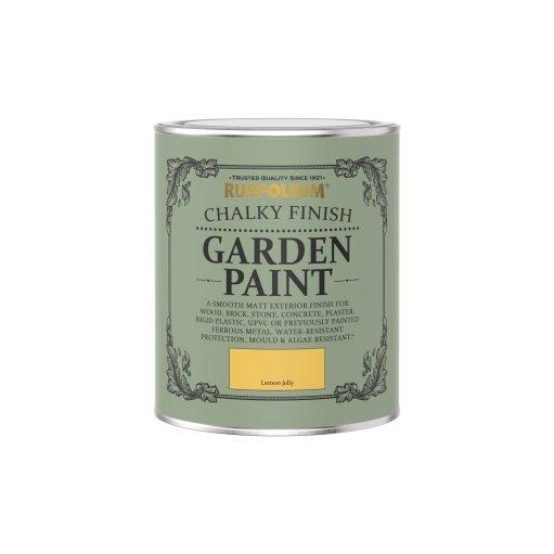 Rust-Oleum Chalky Garden Paint Lemon Jelly Matt 750ml