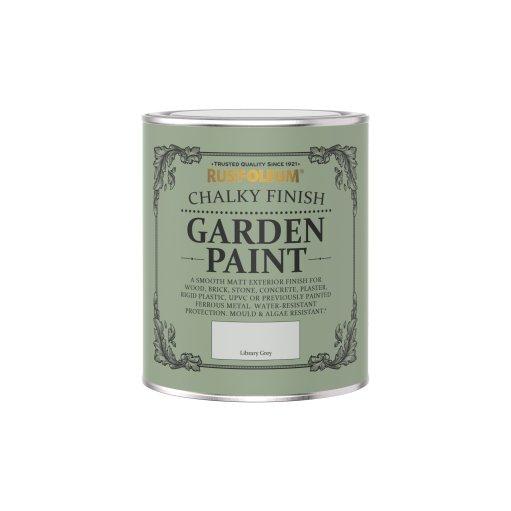 Rust-Oleum Chalky Garden Paint Library Grey Matt 750ml