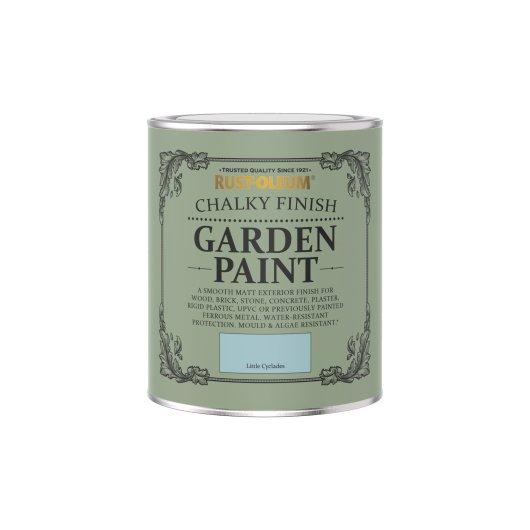 Rust-Oleum Chalky Garden Paint Little Cyclades Matt 750ml