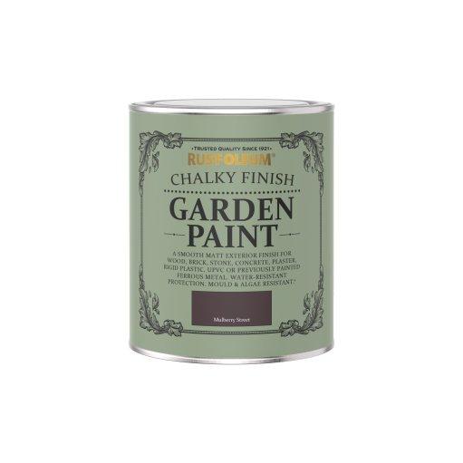 Rust-Oleum Chalky Garden Paint Mulberry Street Matt 750ml