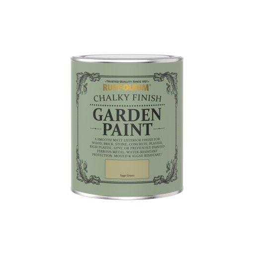 Rust-Oleum Chalky Garden Paint Sage Green Matt 750ml