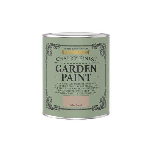 Rust-Oleum Chalky Garden Paint Salted Caramel Matt 750ml