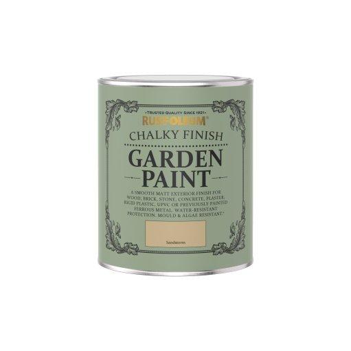 Rust-Oleum Chalky Garden Paint Sandstorm Matt 750ml