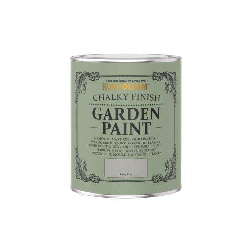 Rust-Oleum Chalky Garden Paint Grey Tree Matt 750ml