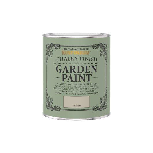 Rust-Oleum Chalky Garden Paint Half Light Matt 750ml