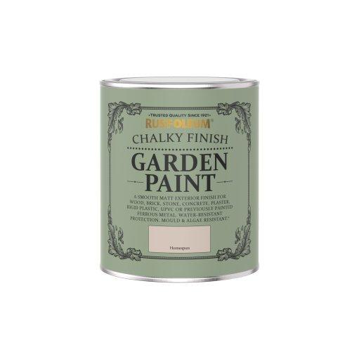 Rust-Oleum Chalky Garden Paint Homespun Matt 750ml