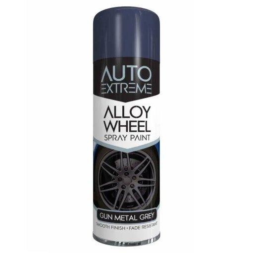 Auto-Extreme-Alloy-Wheel-Spray-Paint-Gun-Metal-Grey