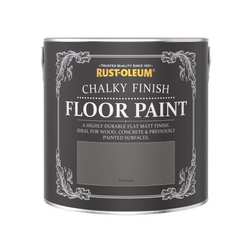 Rust-Oleum Chalky Floor Paint Art School Matt 2.5L