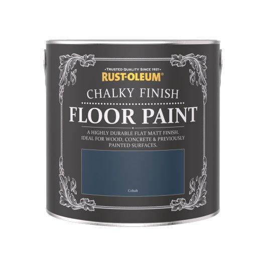 Rust-Oleum Chalky Floor Paint Cobalt Matt 2.5L