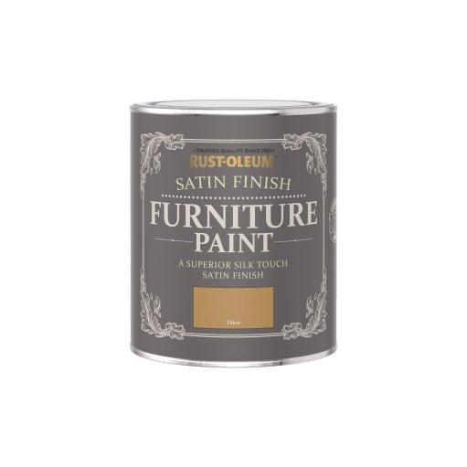 Rust-Oleum Satin Furniture Paint Dijon 750ml
