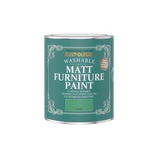 Rust-Oleum Matt Furniture Paint Emerald 750ml