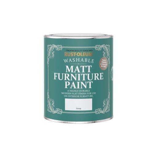 Rust-Oleum Matt Furniture Paint Icecap 750ml