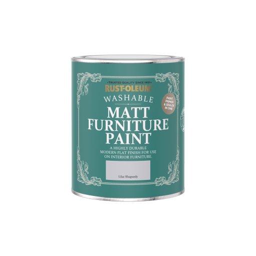 Rust-Oleum Matt Furniture Paint Lilac Rhapsody 750ml