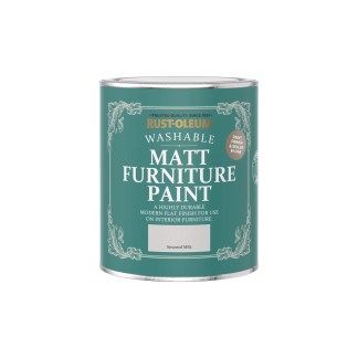 Rust-Oleum Matt Furniture Paint Steamed Milk 750ml