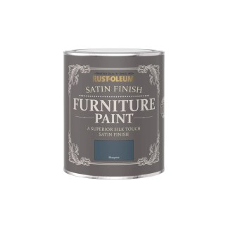 Rust-Oleum Satin Furniture Paint Blueprint 750ml