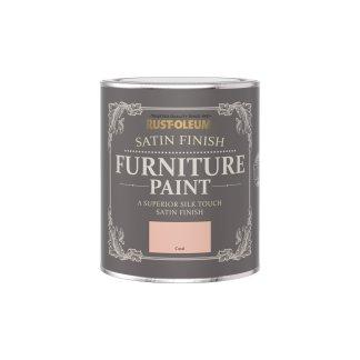 Rust-Oleum Satin Furniture Paint Coral 750ml