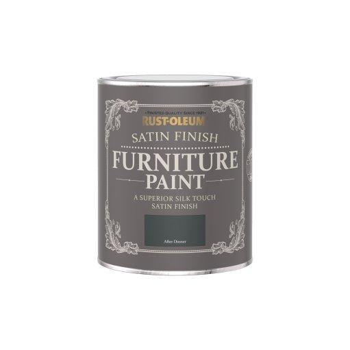 Satin Furniture Paint After Dinner 750ml