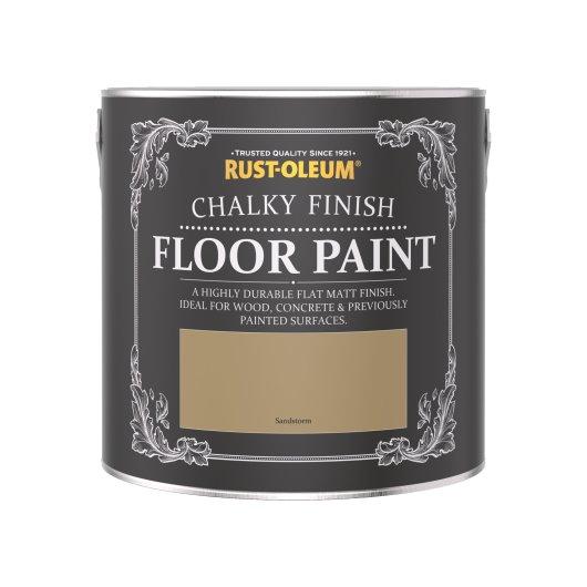 Chalky Floor Paint Sandstorm 2.5L