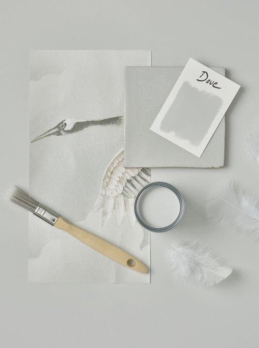 Rust-Oleum Chalky Floor Paint Dove Matt 2.5L 2