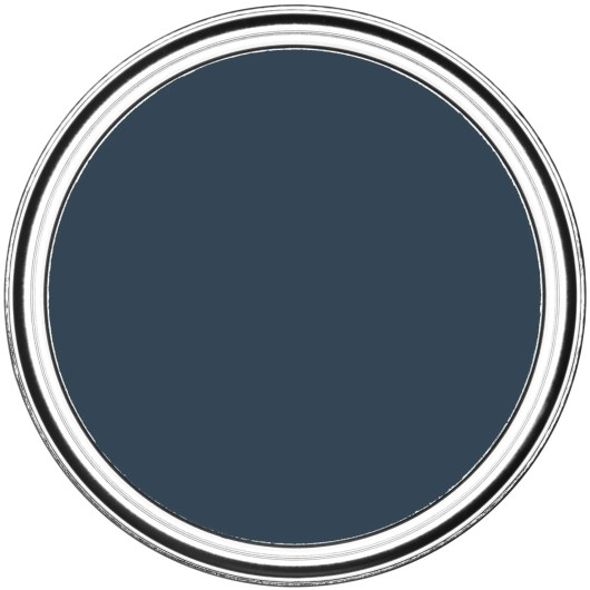 Rust-Oleum Chalky Floor Paint Evening Blue Matt 2.5L 3