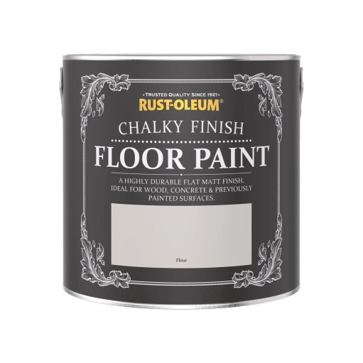Rust-Oleum Chalky Floor Paint Fleur Matt 2.5L