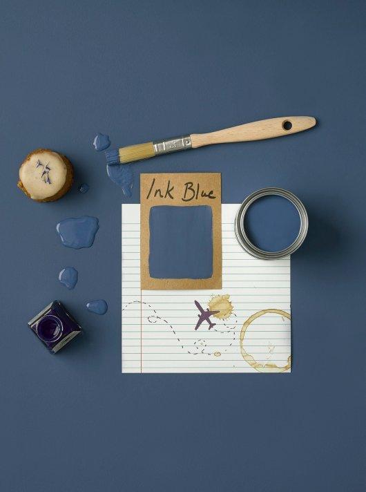 Rust-Oleum Chalky Floor Paint Ink Blue Matt 2.5L 2
